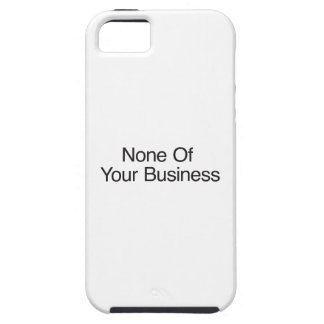 Ningunas preguntas hechas iPhone 5 funda