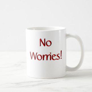 ¡Ningunas preocupaciones! Taza w/Scripture