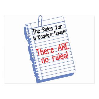 Ningunas reglas en los G-Papás Postales