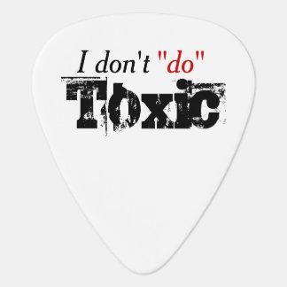 Ningunas relaciones tóxicas púa de guitarra