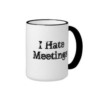 Ningunas reuniones modificaron la oficina para taza de dos colores