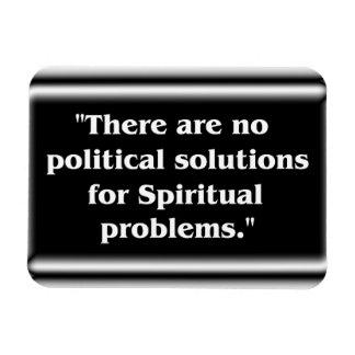 Ningunas soluciones políticas imanes