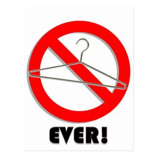 ¡Ningunas suspensiones del alambre nunca! Postales