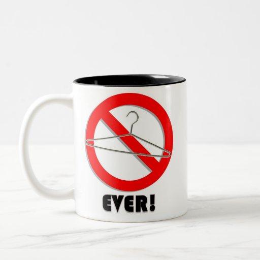 ¡Ningunas suspensiones del alambre nunca! Taza De Café