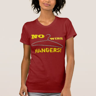 ¡Ningunas suspensiones del alambre! Camiseta