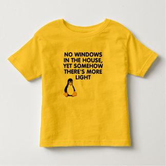 Ningunas ventanas en la casa… camisas