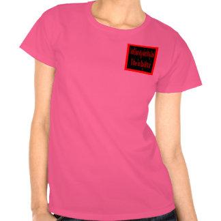 """ningunas voces en mi """"bolsillo divertido tshirt"""