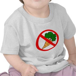 ¡Ningunas zanahorias! Camiseta