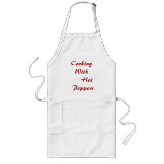 Ningunos # 208 - cocinando el delantal, con pimien