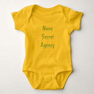 Ningunos agencia secreta polera