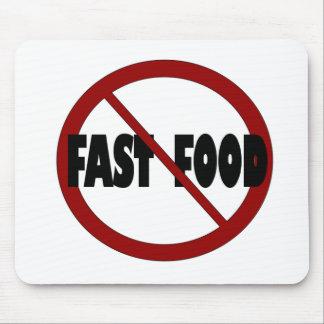 Ningunos alimentos de preparación rápida tapetes de raton