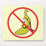 Ningunos bananaheads Mousepad Alfombrilla De Ratón