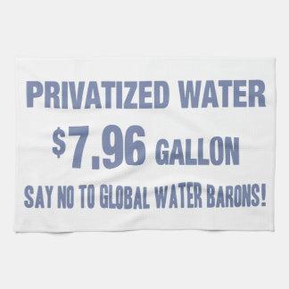 ¡Ningunos barones del agua! Toallas