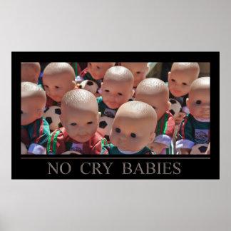 Ningunos bebés del grito posters