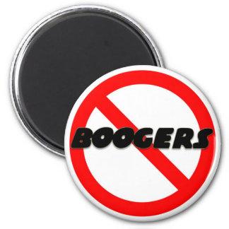 Ningunos Boogers Imán Redondo 5 Cm