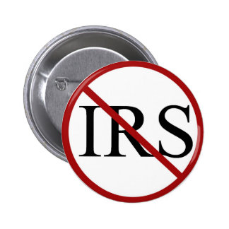 Ningunos botones del IRS Pin Redondo De 2 Pulgadas