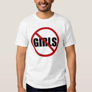 Ningunos chicas permitieron la camiseta de Icon Poleras