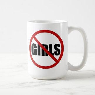 Ningunos chicas permitieron la taza del icono