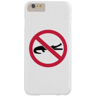 Ningunos cocodrilos funda para iPhone 6 plus barely there