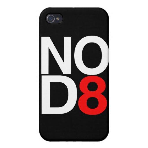 NINGUNOS D8 - NINGUNA FECHA iPhone 4 FUNDA