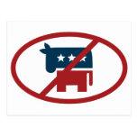 Ningunos democrates postal