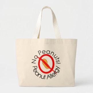 Ningunos diseños de la alergia del cacahuete de lo bolsa