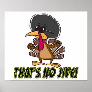 ningunos divertidos jive el dibujo animado del pav poster