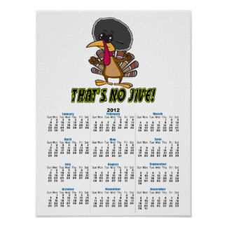 ningunos divertidos jive el dibujo animado del pav posters