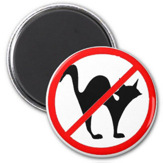 ¡Ningunos gatos?! Imanes Para Frigoríficos
