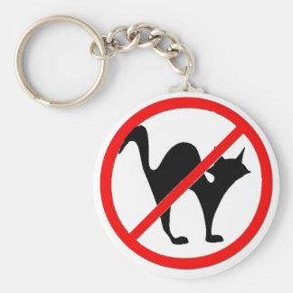 ¡Ningunos gatos Llavero Personalizado