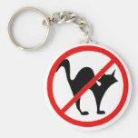 ¡Ningunos gatos?! Llavero Personalizado