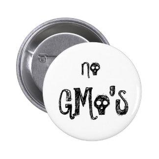 Ningunos GMo Pin Redondo 5 Cm