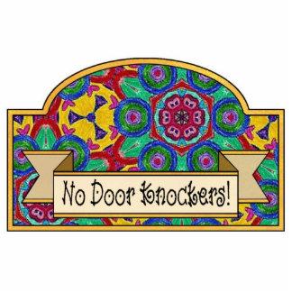 Ningunos golpeadores de puerta - muestra decorativ esculturas fotograficas