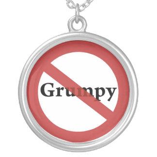 ¡Ningunos Grumps permitidos! Colgante Redondo