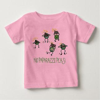 ¡NINGUNOS GUISANTES DE LOS PAPARAZZIS! Camiseta Playera