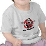 ¡Ningunos hippies! Camiseta