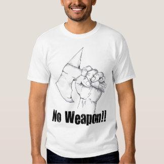 Ningunos hombres del arma ligeros remeras