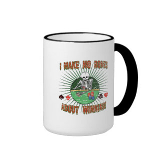 Ningunos huesos sobre ganar taza de café