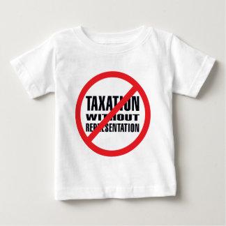 Ningunos impuestos sin la representación tshirt