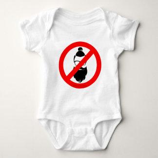 Ningunos inconformistas o bollos del hombre body para bebé