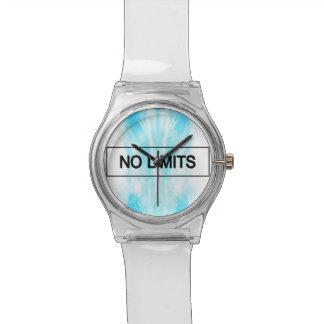 Ningunos límites relojes de pulsera