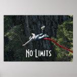 Ningunos límites - salto del amortiguador auxiliar impresiones