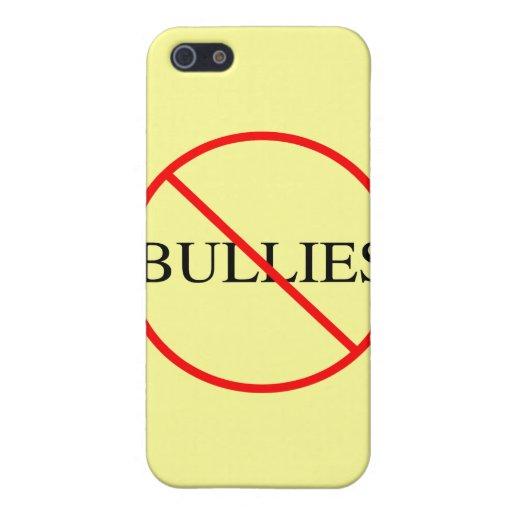 Ningunos matones iPhone 5 carcasas