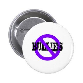 Ningunos matones púrpuras pin