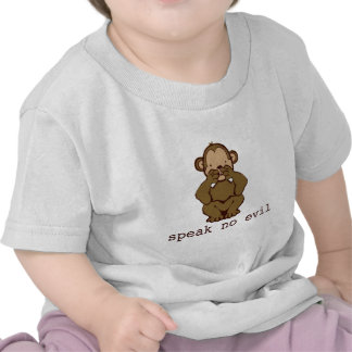 Ningunos monos del mal camisetas