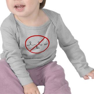 Ningunos MSG (ningún glutamato monosódico) Camisetas