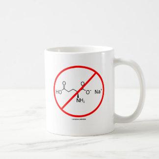 Ningunos MSG (ningún glutamato monosódico) Taza De Café