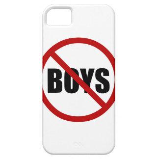 Ningunos muchachos no prohibidos el caso del iPhone 5 fundas