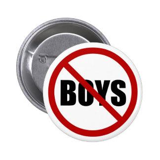 Ningunos muchachos permitieron el botón del icono pins