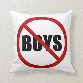 Ningunos muchachos permitieron la almohada del